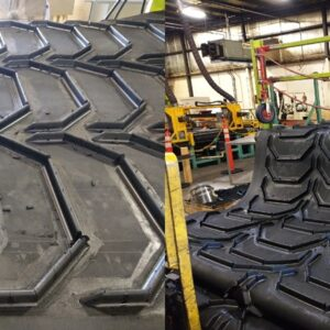 BULLHORN CHEVRON CONVEYOR BELT