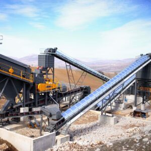 Stone Moving / Crushing Screen Plant Conveyor Belts