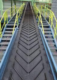 V Cleated Chevron Conveyor Belts Corepole