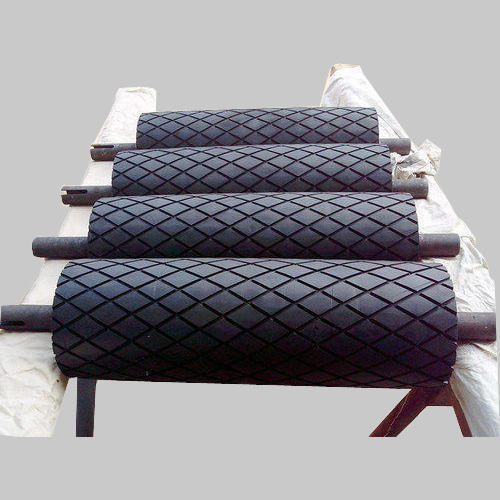RUBBER LAGGING DRUM PULLEY 3